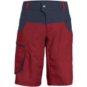 VAUDE Qimsa Spodnie krótkie Mężczyźni, czerwony/niebieski